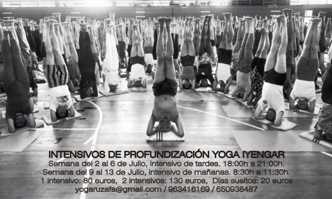 Intensivos de profundización Yoga Iyengar Yoga en Valencia